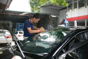 Dán Phim Cách Nhiệt Cho Xe Toyota Vios