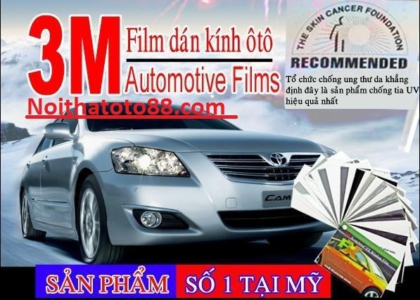 Dịch vụ dán phim cách nhiệt 3M