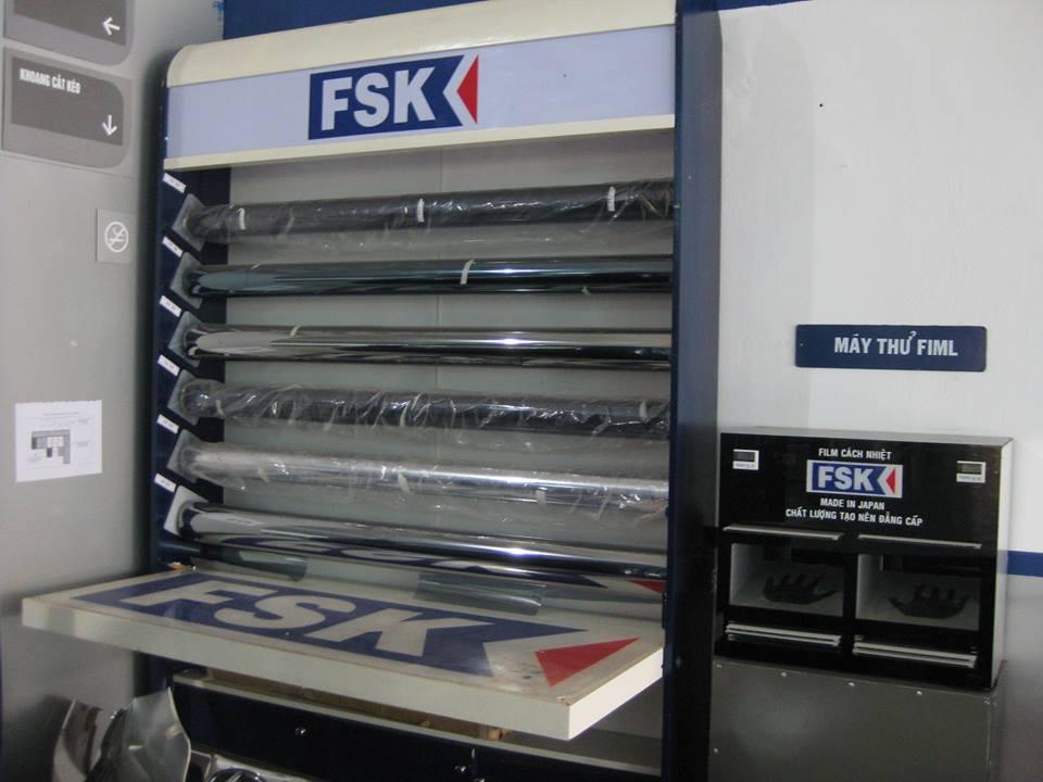 Dán phim cách nhiệt FSK cho xe 7 chỗ – Bảo hành 10 năm