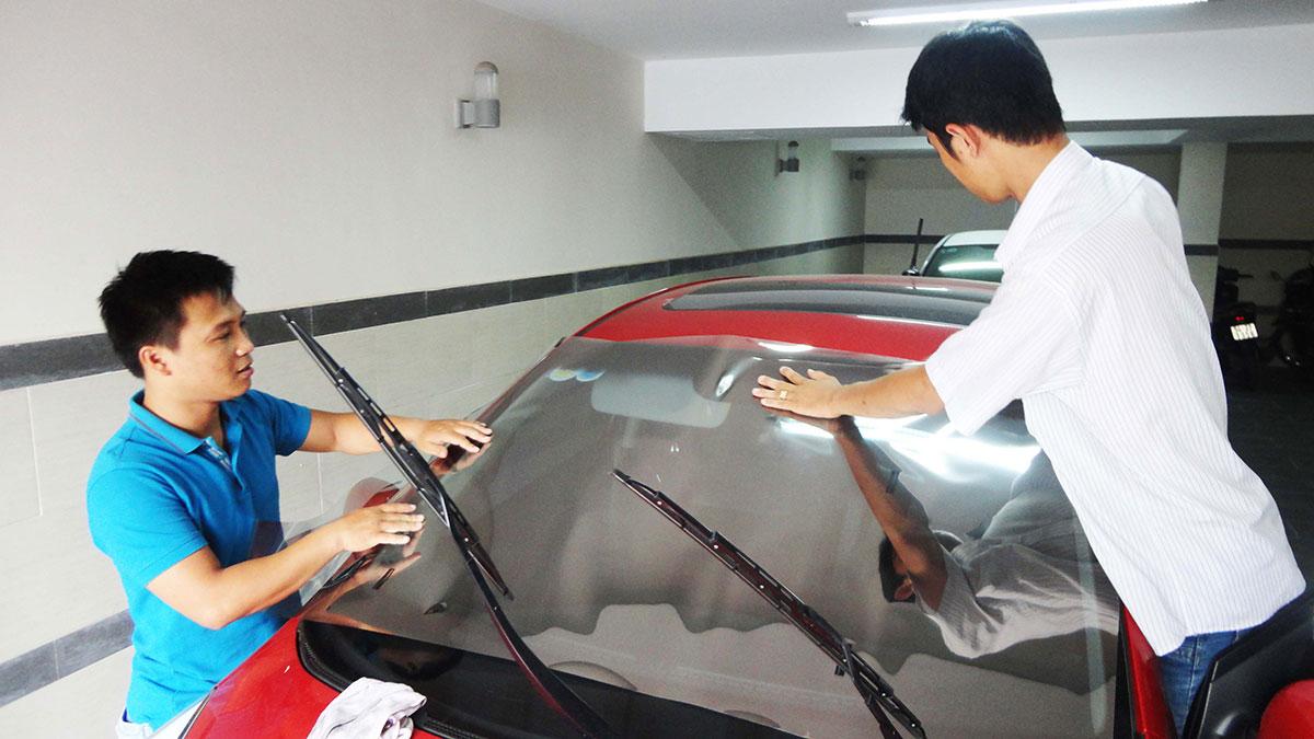 Combo dán phim cách nhiệt FSK cho xe 4 chỗ – Bh 10 năm