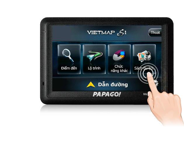 Phần mềm dẫn đường mới VietMap S1
