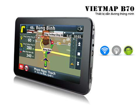 Thiết bị dẫn đường thông minh VietMap B70