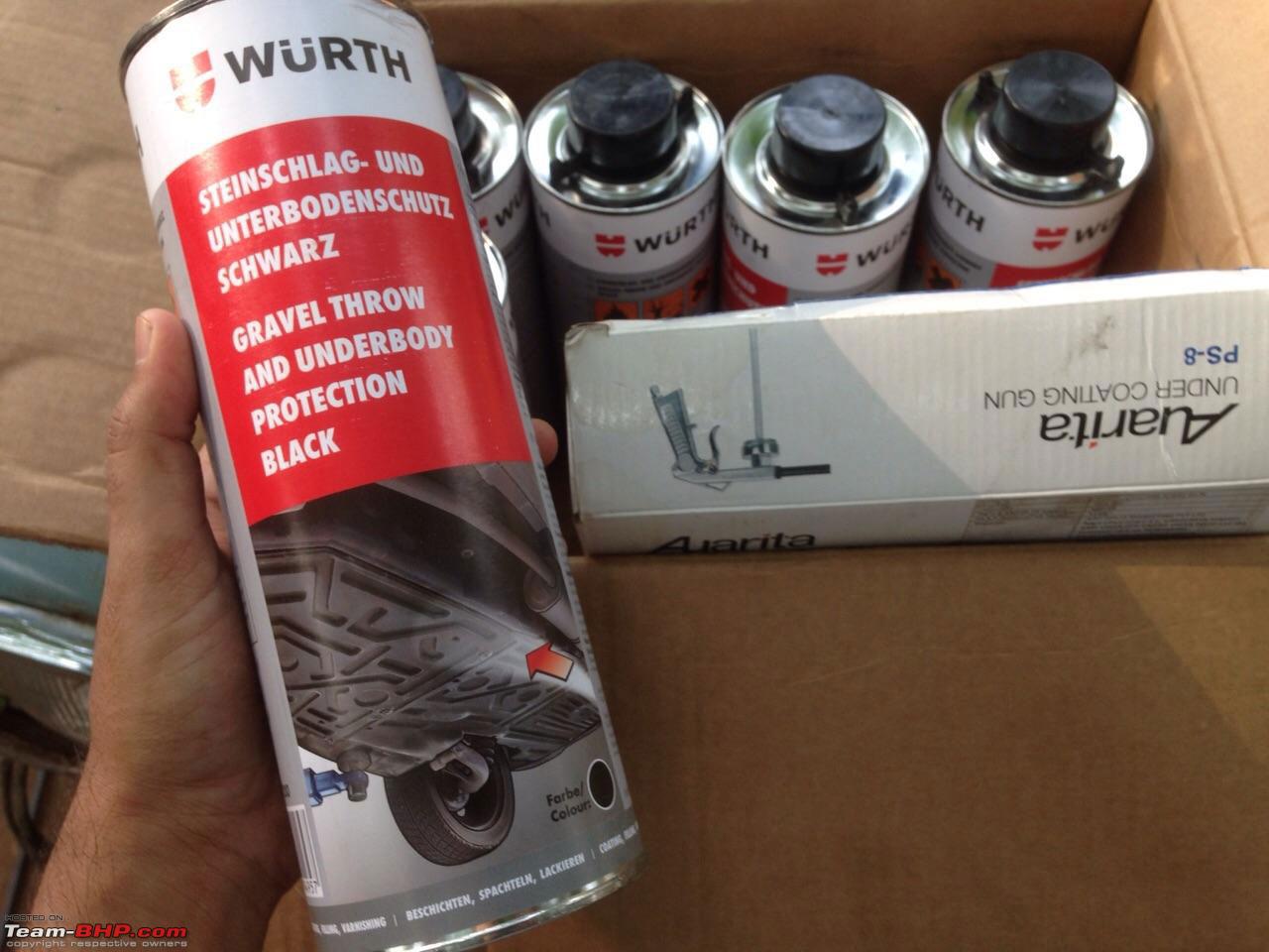 sơn phủ gầm Wurth chính hãng của Đức
