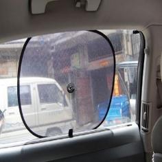 Tấm chắn nắng tròn màu đen cho xe ô tô