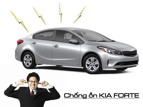 Chống ồn xe Kia Forte/ Cerato