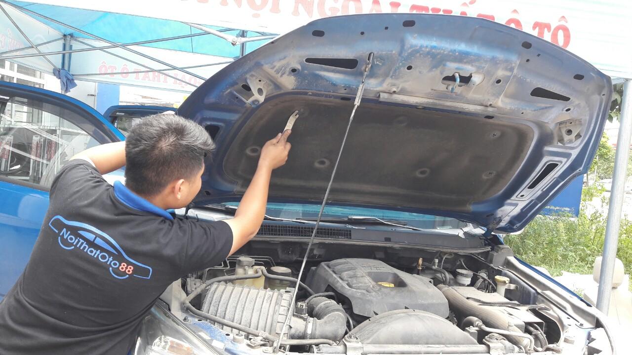 Quy trình làm chống ồn ô tô – chống ồn toàn bộ cho xe ô tô Colorado