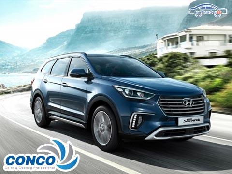 Combo phim cách nhiệt Hàn Quốc ConCo cho xe 7 chỗ