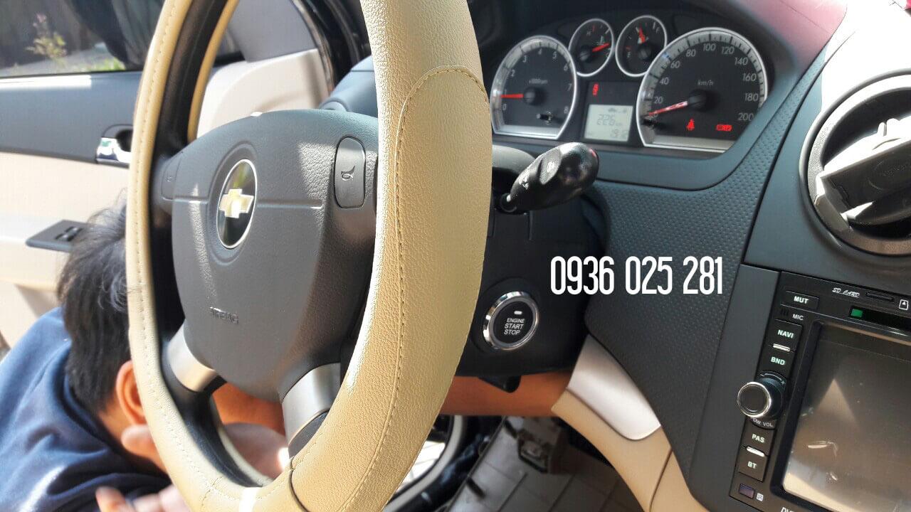 Bộ chìa khóa thông minh smart key xe Chevrolet Aveo