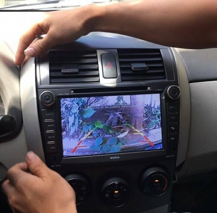 Màn hình DVD Worca S90 cho xe Corolla Altis