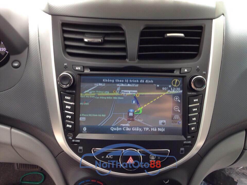 Màn hình DVD cho xe Hyundai Accent