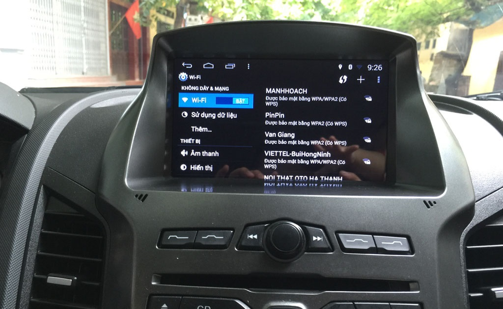 Màn hình DVD Android Worca s160 cho xe Ford Ranger