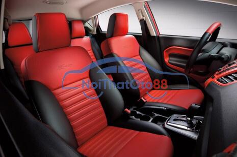 Bọc ghế da cho xe Ford Fiesta