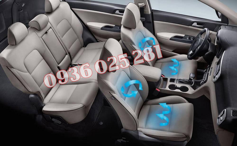 Bọc ghế da cho xe Kia Sportage
