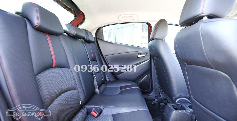Bọc ghế da cho xe Mazda 2
