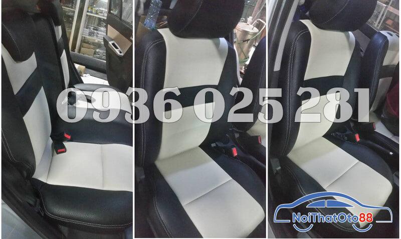 Bọc ghế da cho xe Hyundai Getz