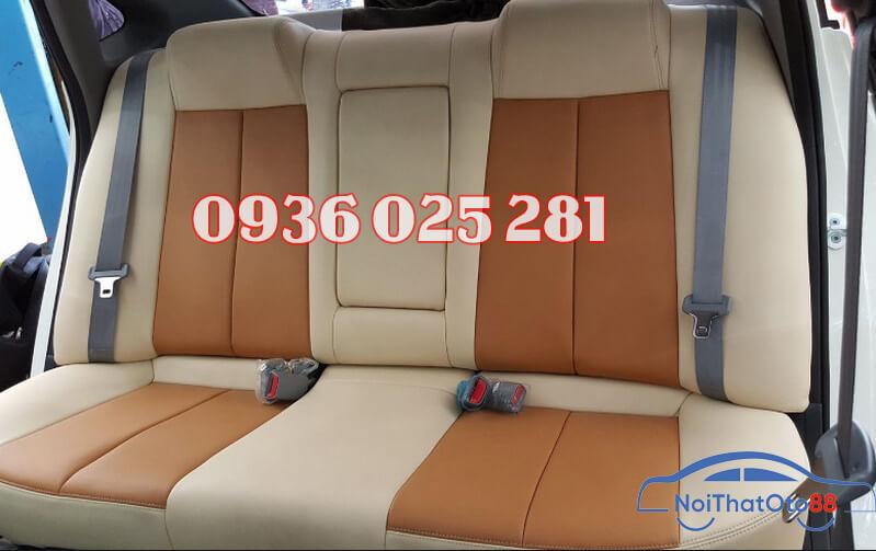 Bọc ghế da cho xe Kia Rio