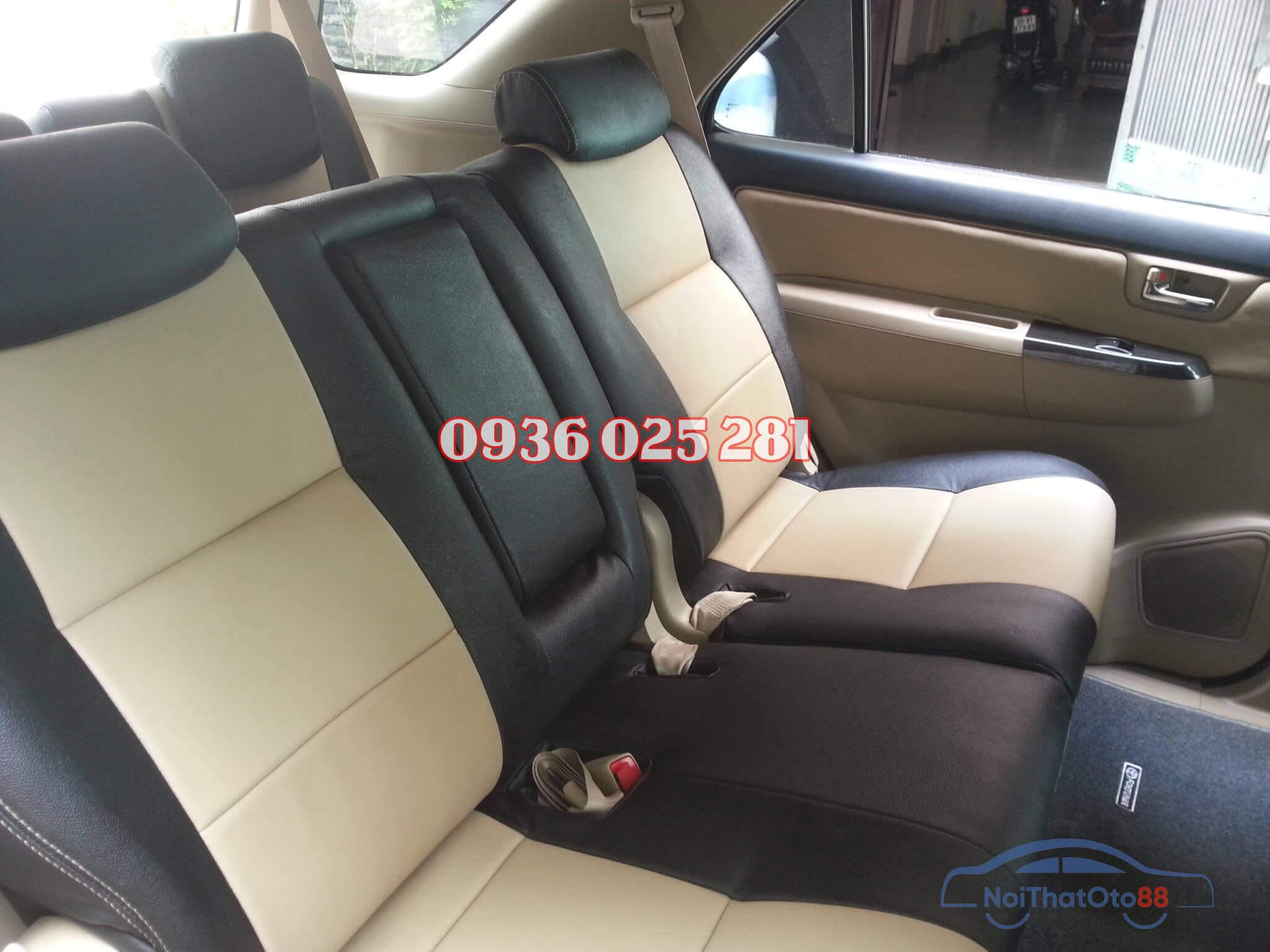 Bọc ghế da cho xe Toyota Fortuner