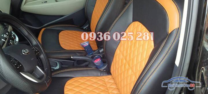Bọc ghế da xe Kia K3