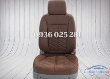 Bọc ghế da cho xe Hyundai Santafe