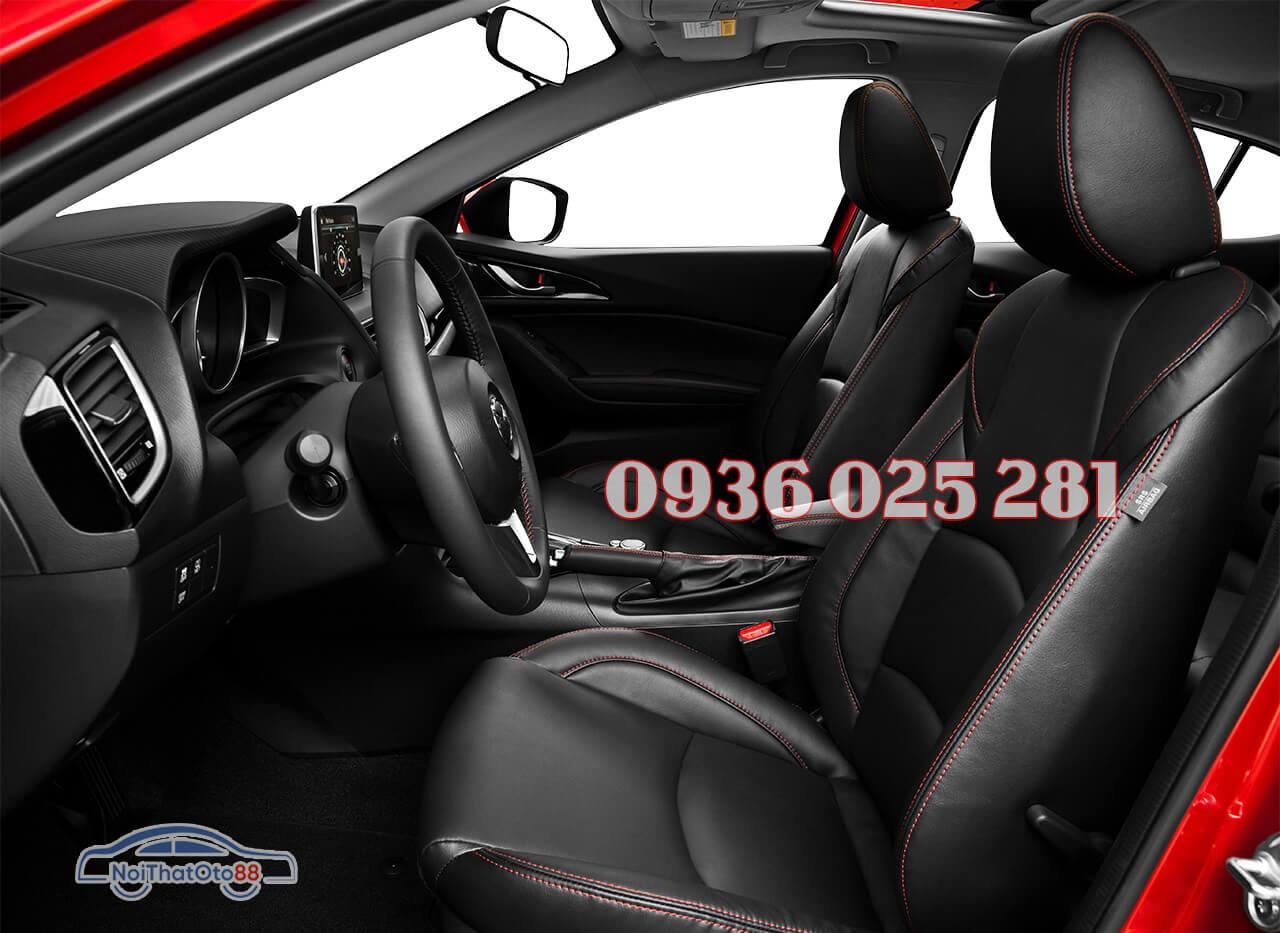 Bọc ghế da xe Mazda 3