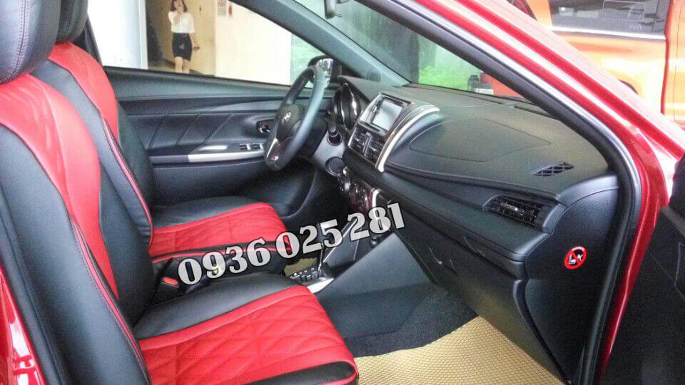 Bọc ghế da cho xe Toyota Yaris