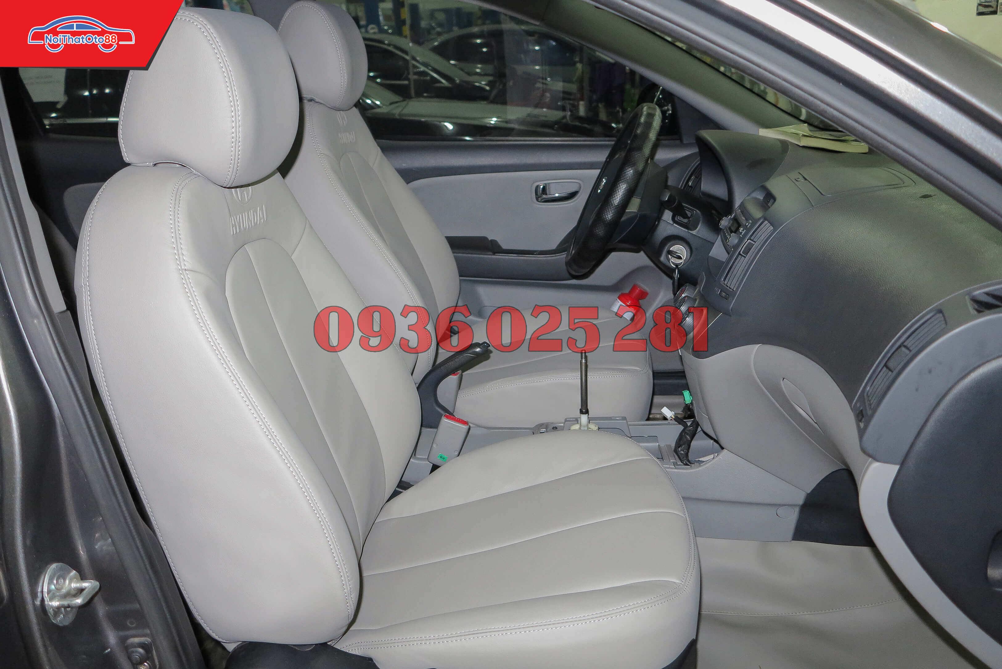Bọc ghế da cho xe Hyundai Avante