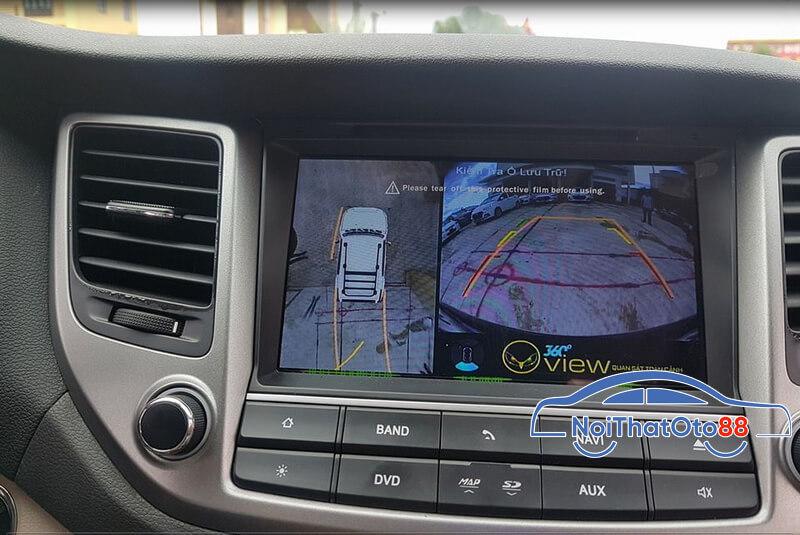 Camera 360 độ xe Hyundai Tucson