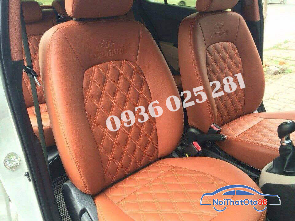 Bọc ghế da cho xe Hyundai i10