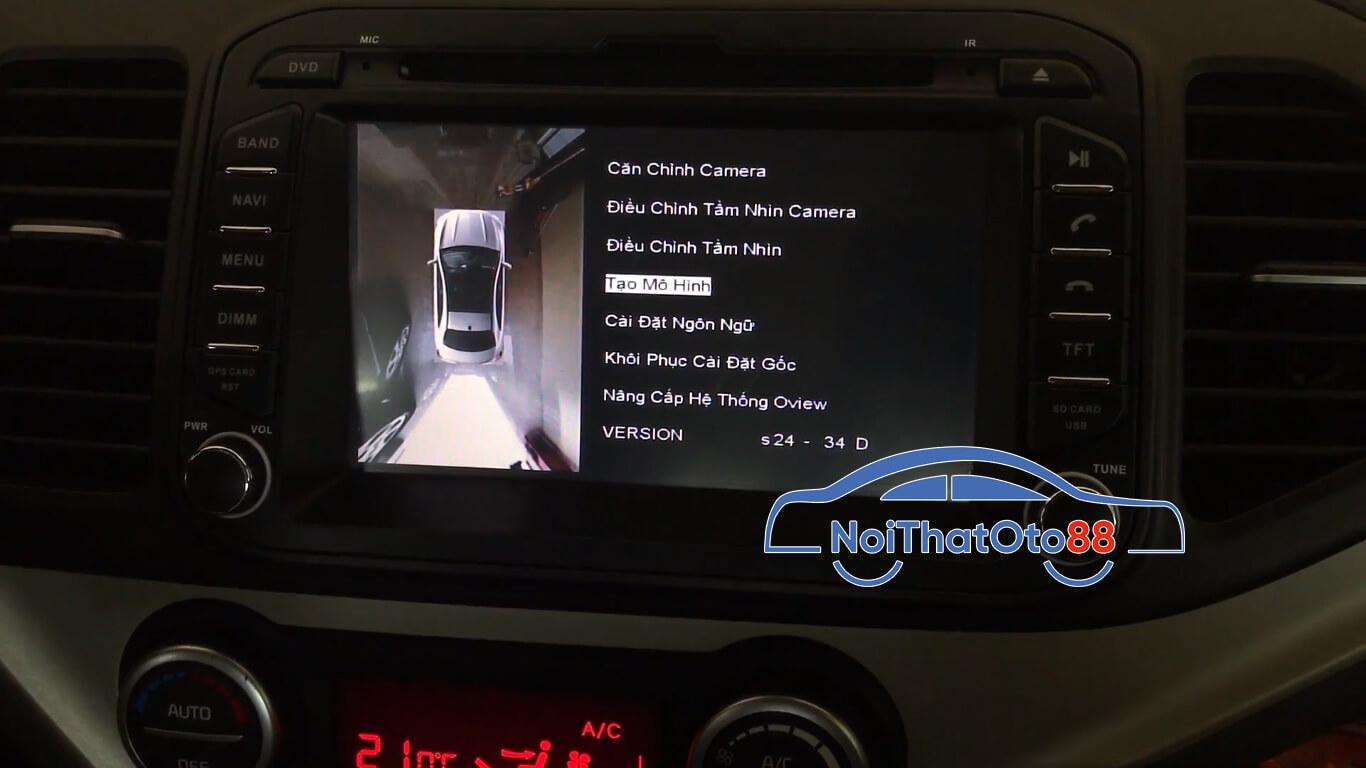 Ưu điểm của Camera 360 độ ô tô