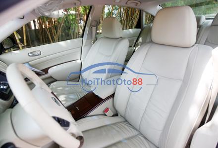 Bọc ghế da cho xe Nissan Teana