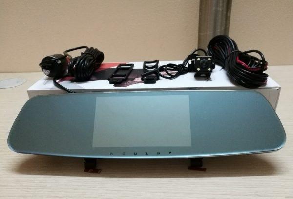 Camera giám sát hành trình 3in1 trên gương R18