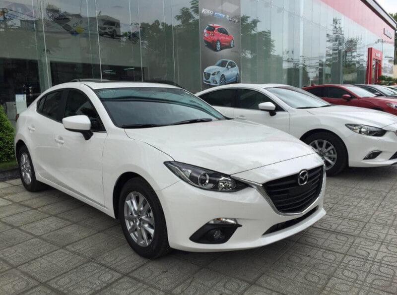 Dán phim cách nhiệt xe Mazda