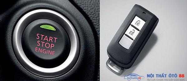 Làm sao để mở động cơ khi chìa khóa thông minh Smart key hết pin