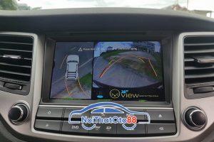 màn dvd lắp camera 360 ô tô