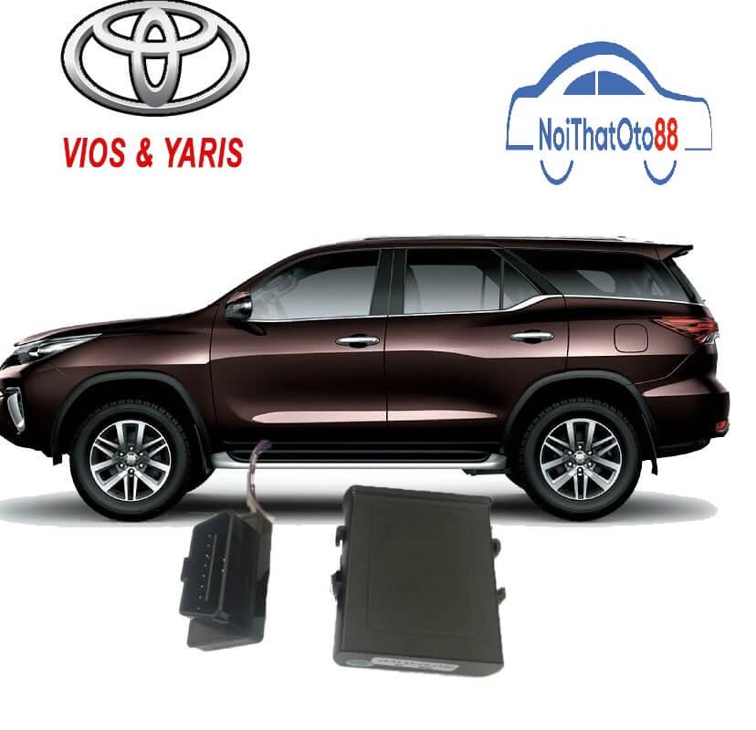 Tự động gập gương và chốt cửa Toyota Vios/Yaris 2014-2017