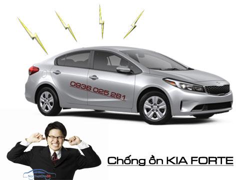 Chống ồn cho xe kia Forte