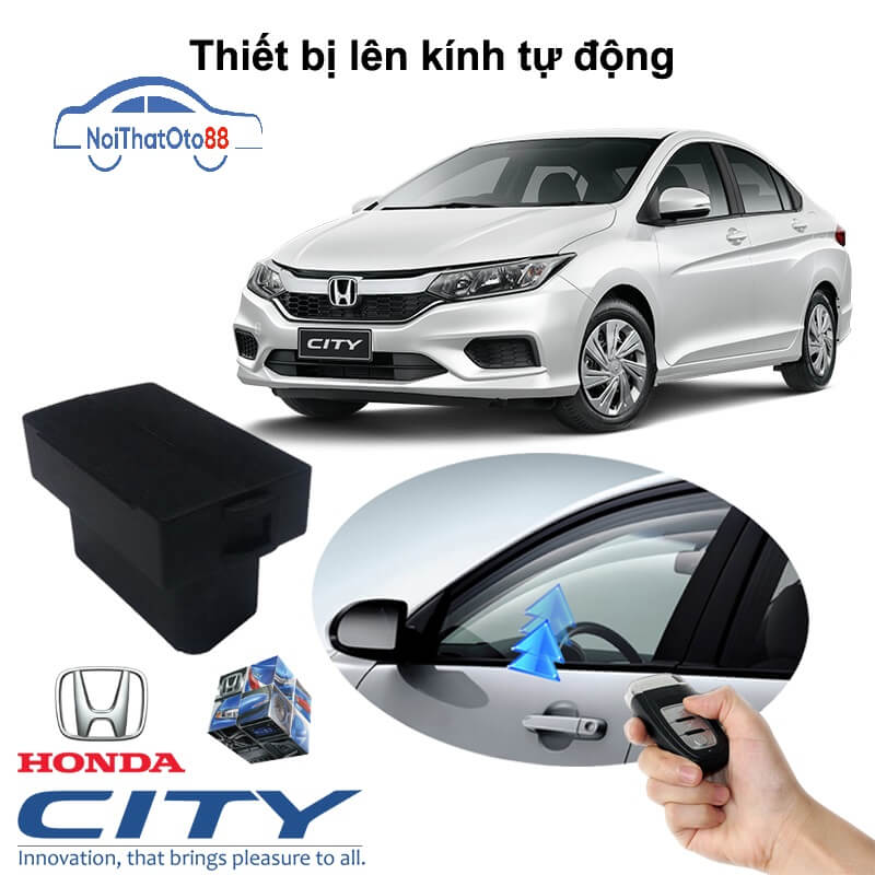 Tự động gập gương lên kính dòng xe Honda City