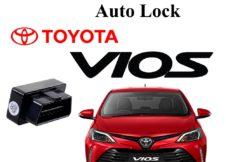 thiết bị tự động chốt cửa cho xe Toyota Vios