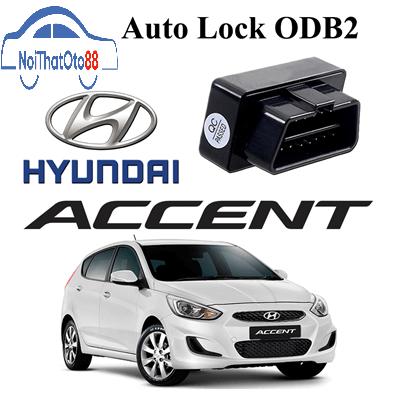 Thiết bị tự động chốt cửa cho xe ô tô Hyundai Accent