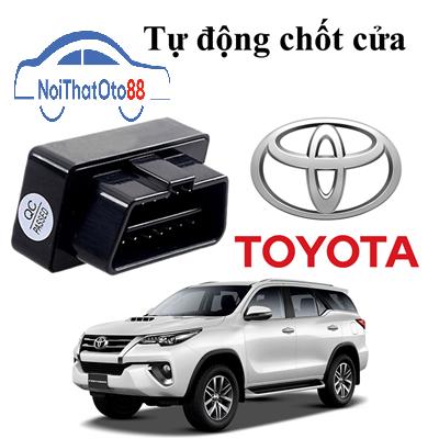 Thiết bị tự động chốt cửa cho dòng xe Toyota