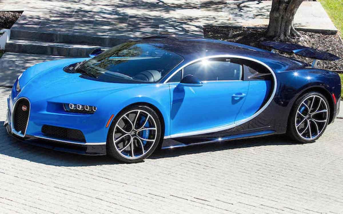 Bugatti Chiron 2018-noithatoto88
