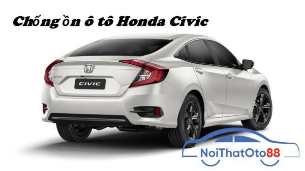 Chống ồn cho xe Honda civic hiệu quả