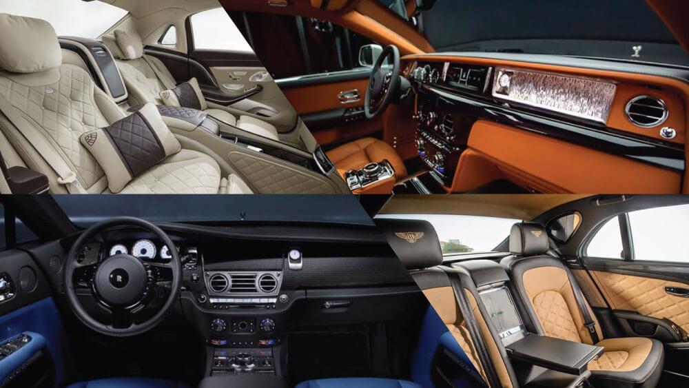 Nội thất ô tô Bentley Bentayga Falconry