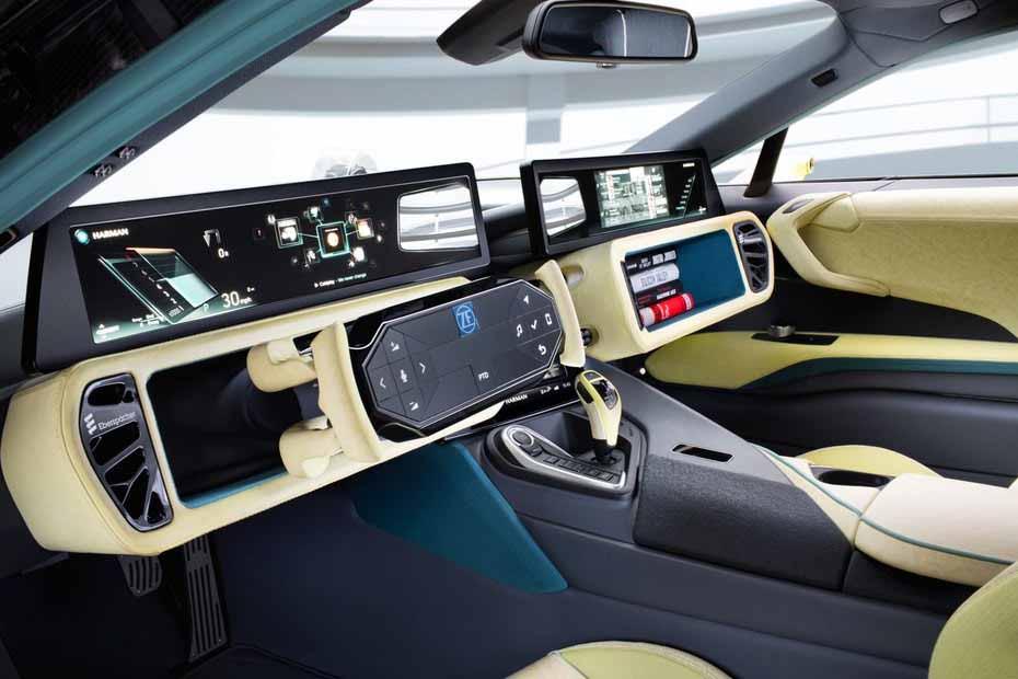 siêu xe bmw tự động thu gọn nội thất ô tô