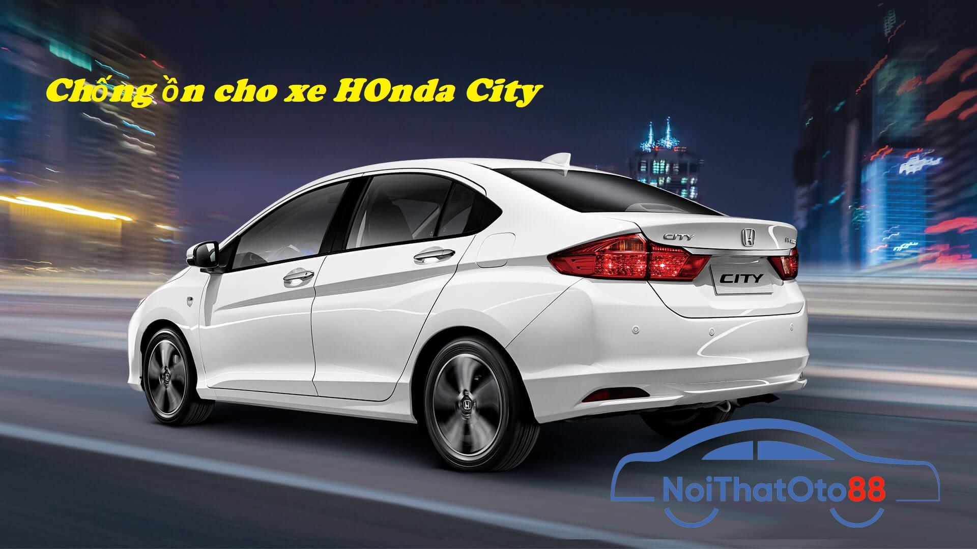Dán cách âm chống ồn cho xe Honda City