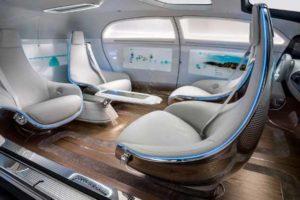 xu hướng nội thất ô tô trong tương lai - ghế xoay