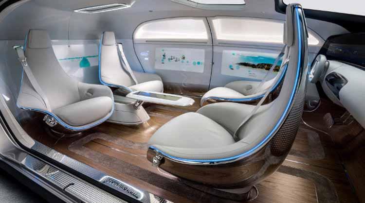 Xu hướng nội thất ô tô trong tương lai