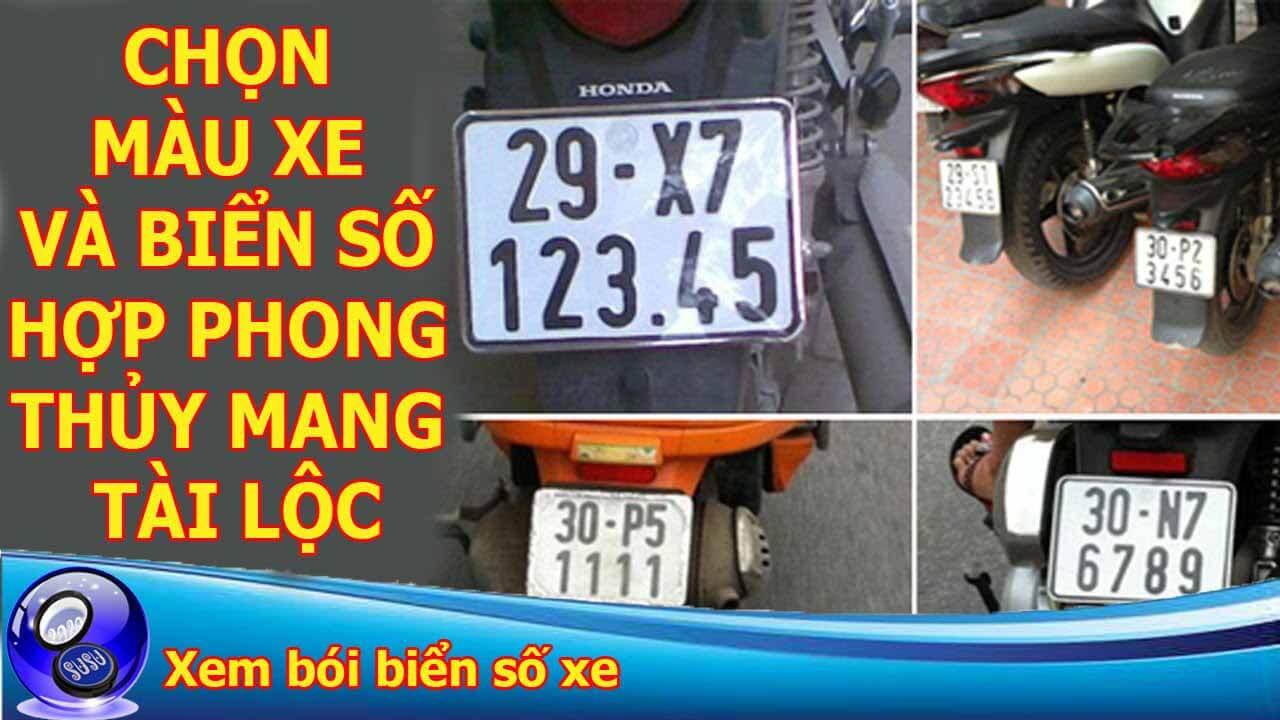 Ý nghĩa biển số xe của bạn