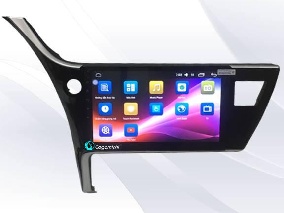 Màn hình DVD Android cho xe Altis cao cấp