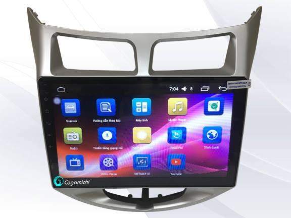 Màn hình DVD Android cho xe Accent Sim 4G (2012-2016)